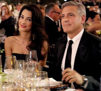 George Clooney Resmi dengan Pengacara Alamuddin 1