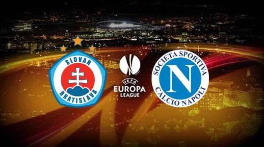 Slovan Bratislava vs Napoli