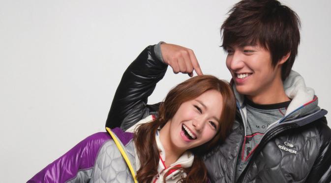 Photo of Video Kemesraan Lee Min Ho dengan Yoona SNSD
