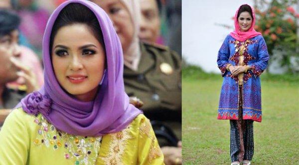 Aprilani Yustin Ficardo Istri Gubernur Lampung