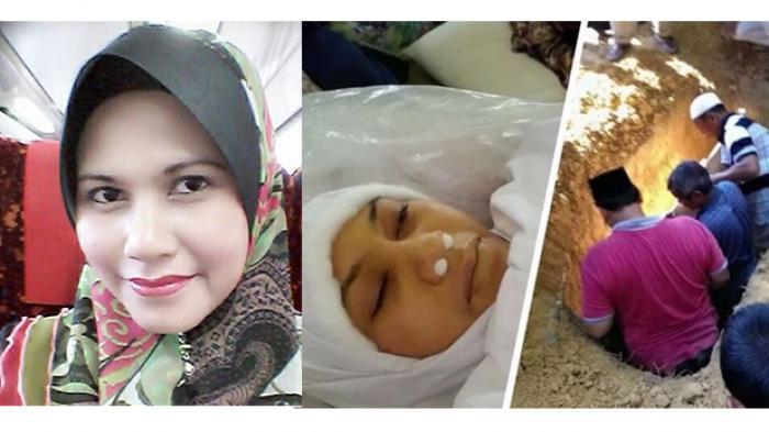 Kuburan Wanita Malaysia Mengeluarkan Cahaya