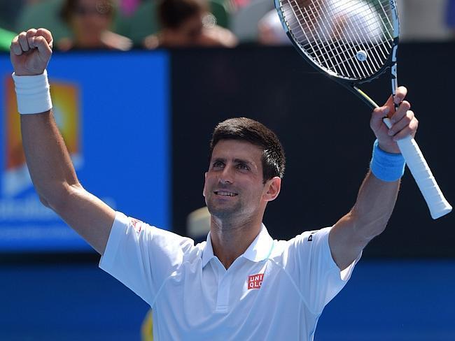 Fernando Verdasco melawan Novak Djokovic