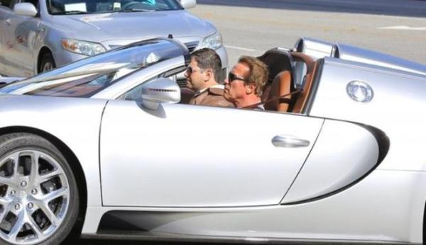 Arnold Schwarzeneger Kendarai Supercar