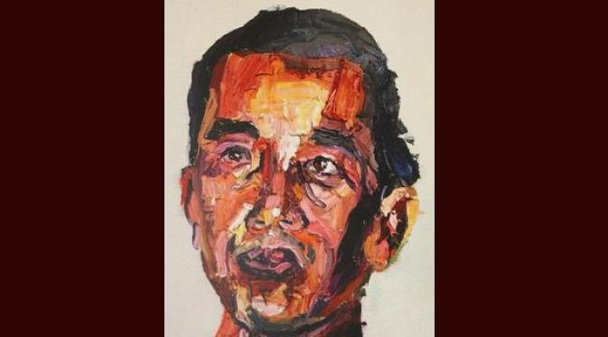 "Kasus Bali Nine ""Sukumaran"" Lukis Wajah Jokowi"