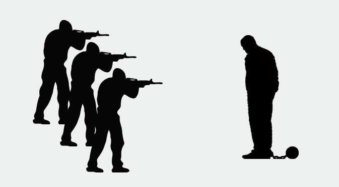 140 Penembak Jitu Bersiap Laksanakan Perintah Eksekusi Mati