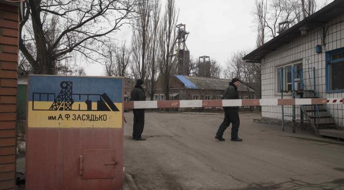 30 Tewas Dalam Ledakan Tambang di Wilayah Pemberontak di Ukraina