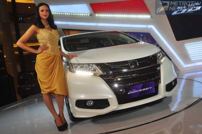 All New Honda Odyssey, Siap Dipinang Dengan Harga Rp707 Juta