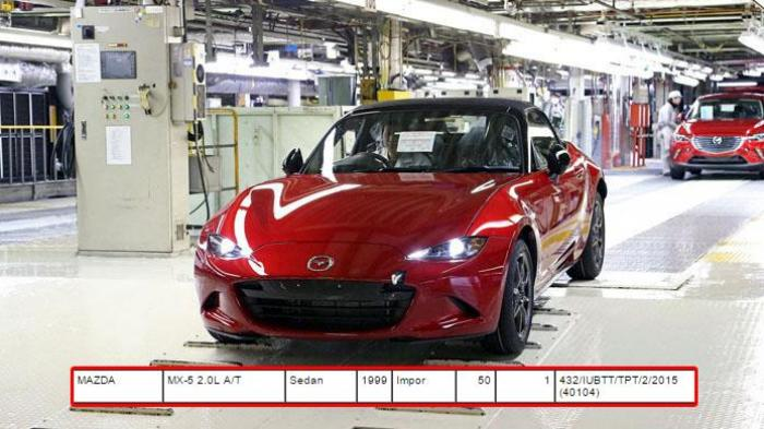 All-New Mazda MX-5 sudah Mendarat di Indonesia