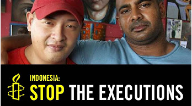 Amnesty International Minta Indonesia Batalkan Eksekusi Mati