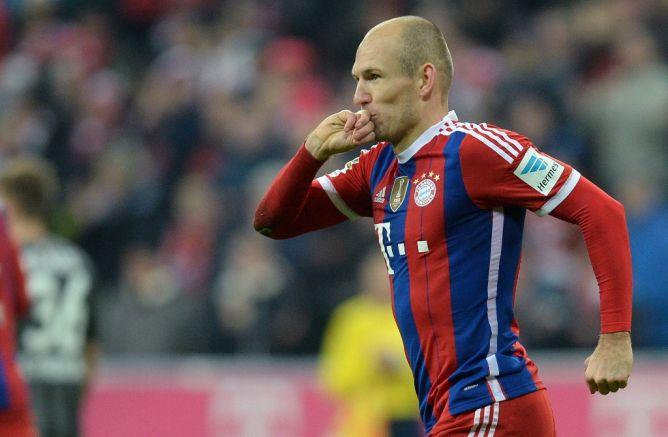 Arjen Robben Terancam Absen Bela Bayern di Perempat Final Liga Champions