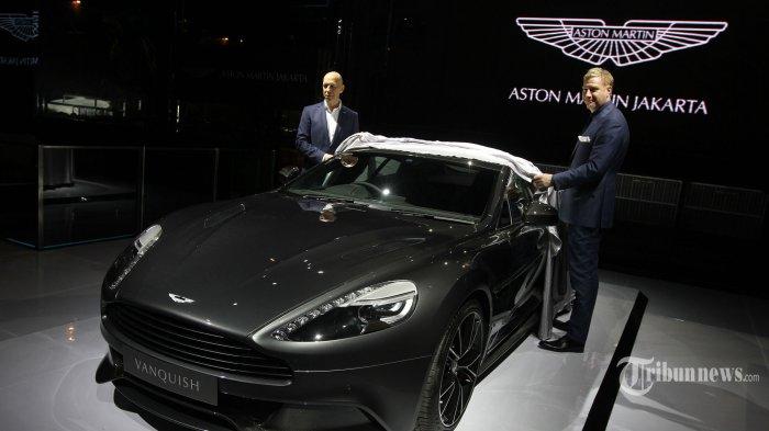 Aston Martin Ungkit James Bond dalam Perkenalan Perdana