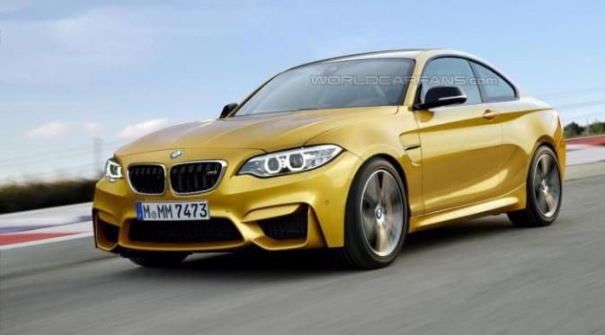 BMW M2 Coupe Siap Diproduksi Tahun Ini