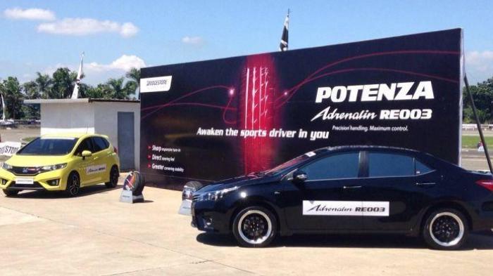 Ban Bridgestone Potenza Adrenalin RE003 Diklaim Lebih Gigit Aspal