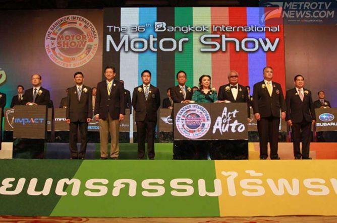 Bangkok Motor Show 2015, Angkat Kembali Perekonomian Thailand