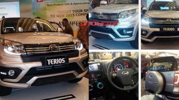 Daihatsu Terios Facelift Tipe X Jadi Strata Terendah