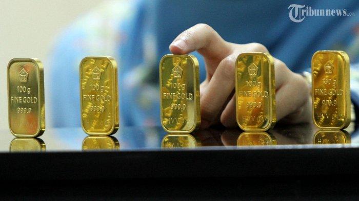 Dalam Dua Hari Emas Antam Sudah Turun Rp 2.000 Per Gram