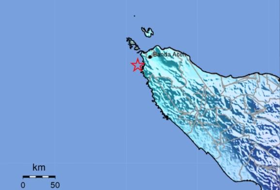 Dalam Satu Jam, Gempa Guncang Dua Wilayah di Indonesia