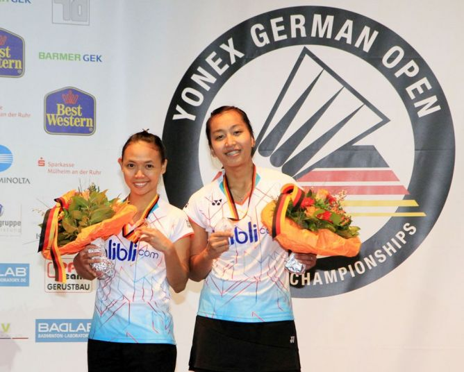 Della-Rosyita Jadi Runner Up di German Open