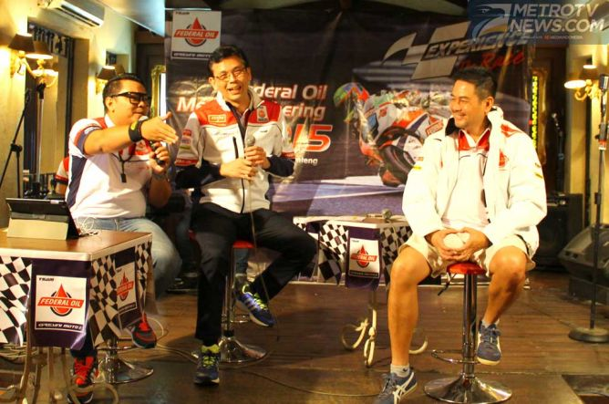 Federal Oil Luncurkan Program Experience the Race