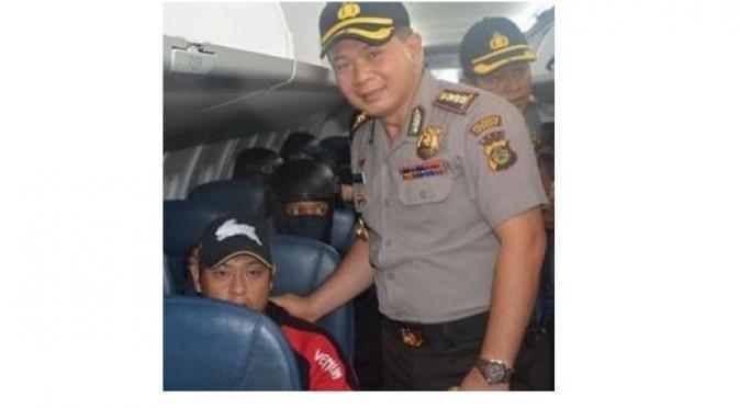 Foto Kapolres Denpasar Bareng Bali Nine Diprotes Australia