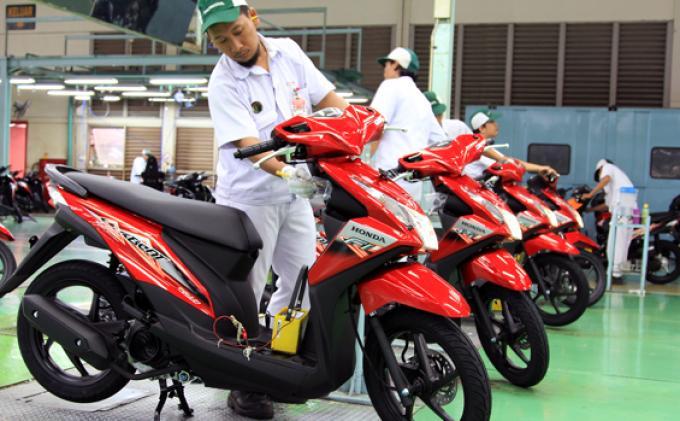 Honda BeAT Masih Rajai Penjualan Skutik di Tanah Air