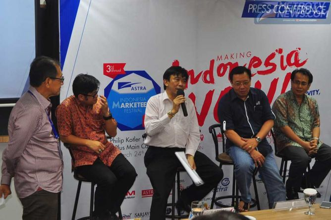 Honda Dukung Indonesia Marketeers Festival 2015