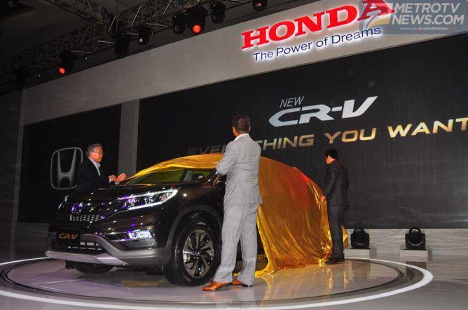 Honda Kembali Boyong CR-V Facelift di Bangkok
