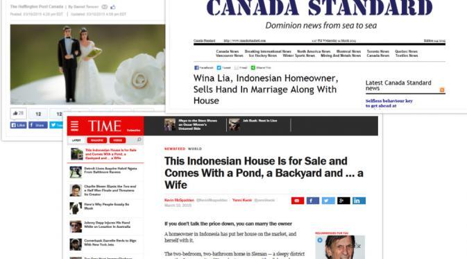 Iklan Beli Rumah Bonus Nikahi Pemilik Ramai Disorot Media Asing