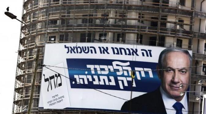 Jelang Pemilu Israel, PM Netanyahu Takut Kalah