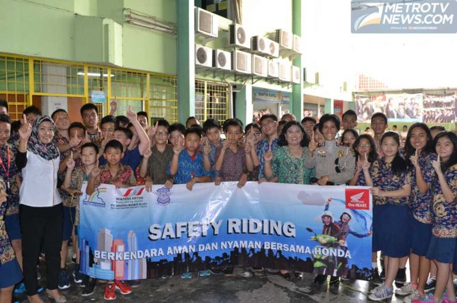 Photo of Kampanye Cara Gampang Safety Riding, Kontrol Emosi Kala Berkendara