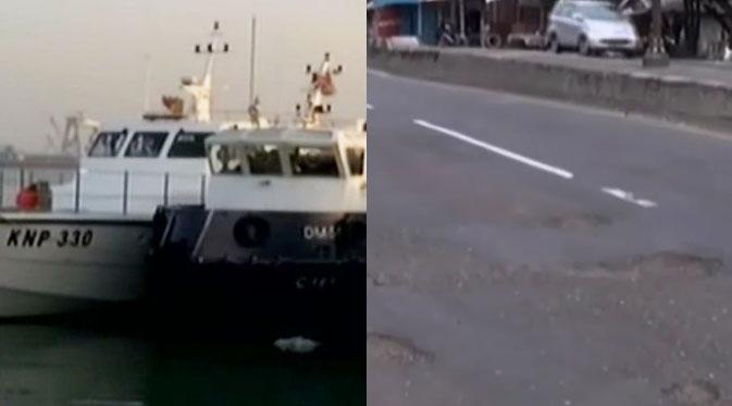 Kapal Asing di Riau Ditangkap - Lubang Menganga di Jalur Pantura