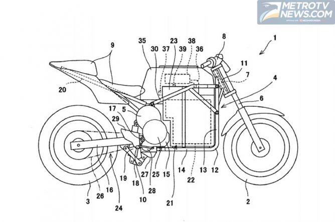 Kawasaki Siap Meriset Motor Listrik