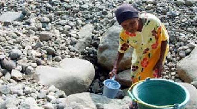Kelangkaan Air Bersih Sebabkan Banyak Wanita Meninggal