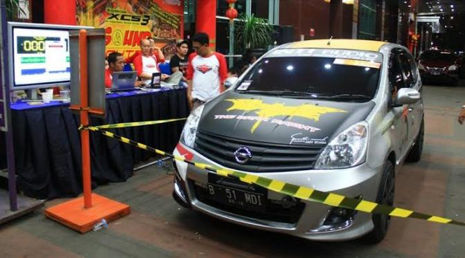 Kontes Audio di Mall Otomotif