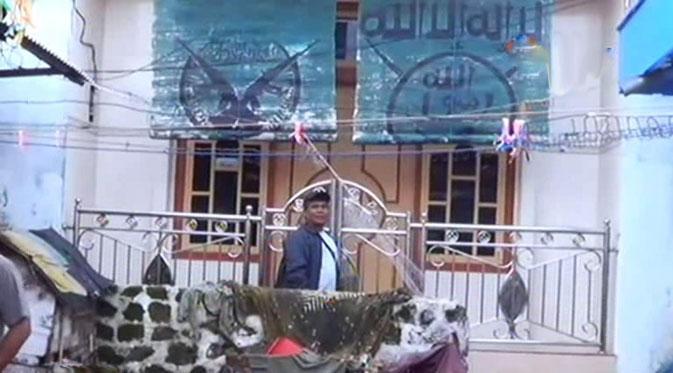 Logo ISIS Terpampang di Rumah WNI Diduga Gabung ISIS