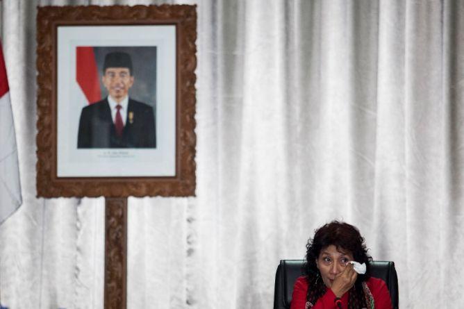 Menteri Susi Sedih Ada Perbudakan di Laut Indonesia