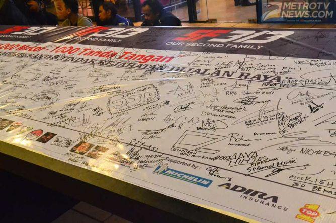 Michelin Dukung Komunitas Moge Lawan Kejahatan di Jalan Raya