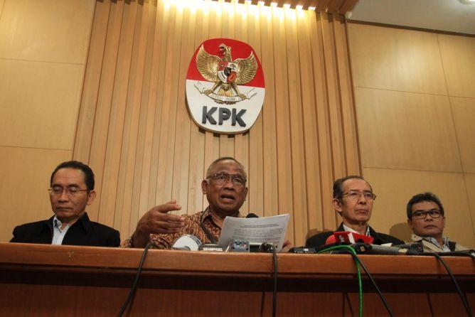 Pegawai KPK Tolak Pelimpahan Kasus BG ke Kejagung