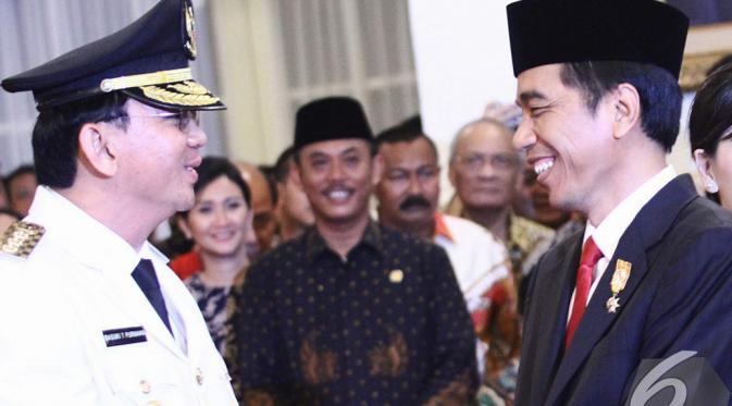 Pesan Jokowi untuk Ahok Terkait Kisruh APBD DKI