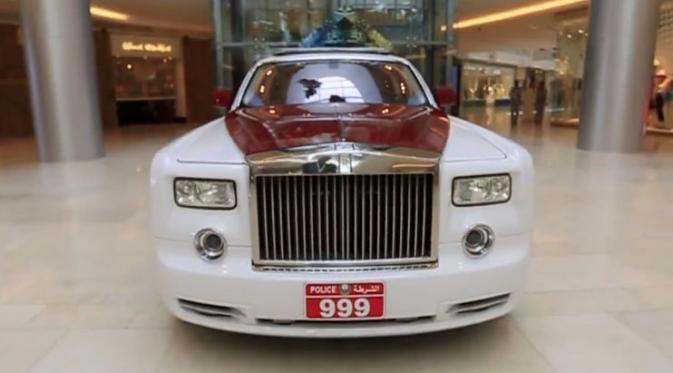 Rolls Royce Phantom Dijadikan Mobil Patroli