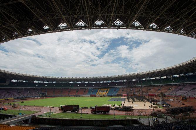 SUGBK Siap Digunakan Kualifikasi Piala AFC U-23