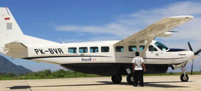 Susi Air Buka Rute Bengkulu-Pulau Enggano