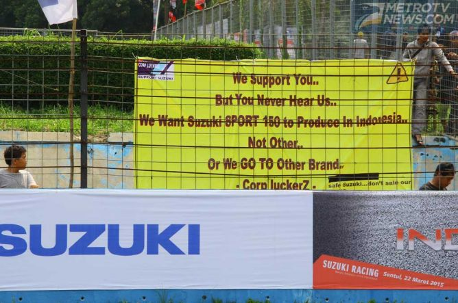 Suzuki Belum Luncurkan Motor Sport 150 cc, Fans Ancam Pindah Merek