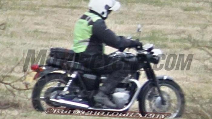 Tampang Moge Triumph Motorcycles Baru Bocor