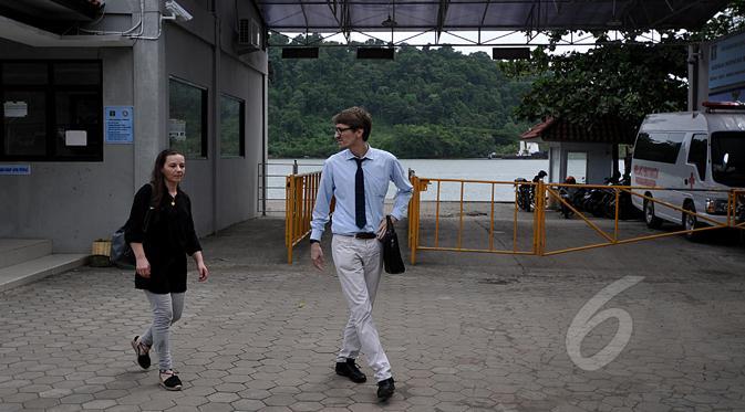 Temui Duo Bali Nine di Nusakambangan, Diplomat Australia Bungkam