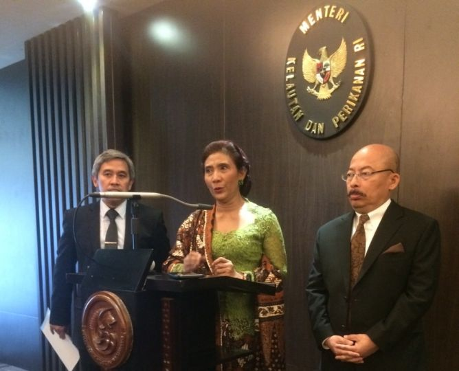 Tenggelamkan Kapal Illegal Fishing Tak Pengaruhi Hubungan Bilateral