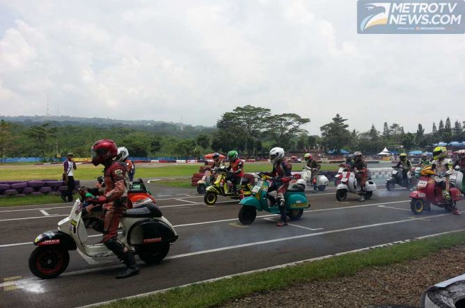 VBI Gelar Scooter Grand Prix Seri Perdana 2015