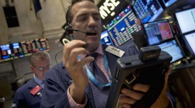Wall Street Tersungkur di Tengah Spekulasi Suku Bunga The Fed