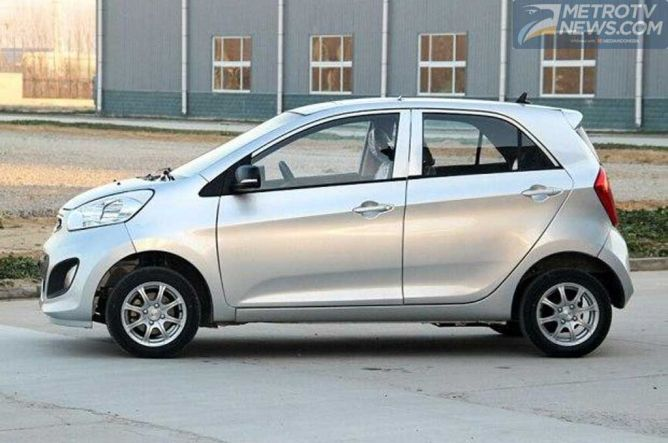 Yogomo 330, Mobil asal Tiongkok Jiplakan Kia Picanto