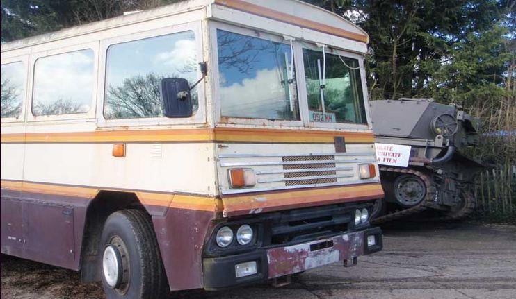 Bus Antipeluru Milik Margareth Thatcher Tembus Rp 492 Juta